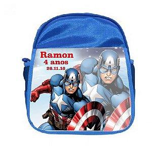 Arte para mochila personalizada Capitão America