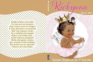 Arte Capa de Revista Anjinha Princesa