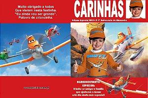 Arte Capa de Revista Aviões da Disney