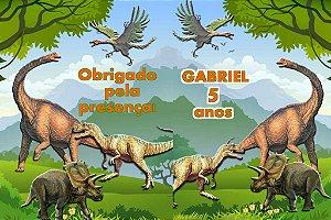 Arte Capa de Revista Dinossauros