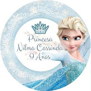 Arte para adesivo de copo personalizado Frozen 003
