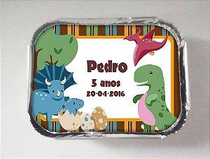 Arte para marmitinha personalizada Dinossauros 001