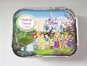Arte para marmitinha personalizada Princesas Disney Baby