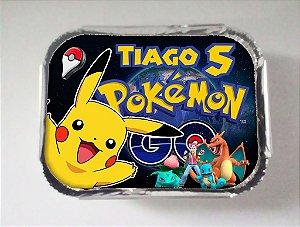 Arte para marmitinha personalizada Pokémon GO