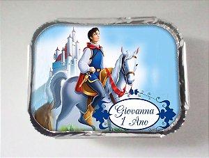 Arte para marmitinha personalizada Príncipe da Branca de Neve