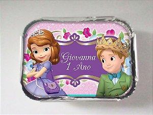 Arte para marmitinha personalizada Princesa Sofia