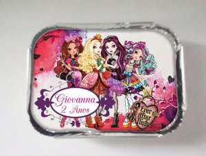 Arte para marmitinha personalizada Ever After High