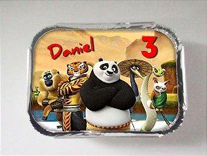Arte para marmitinha personalizada Kung Fu Panda