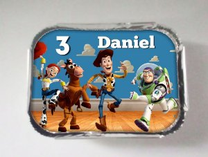 Arte para marmitinha personalizada Toy Story