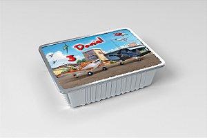 Marmitinha  personalizada Aviões da Disney