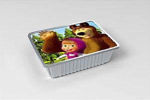 Marmitinha  personalizada Masha e o Urso