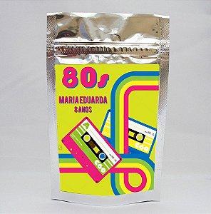 Saco Metalizado Anos 80