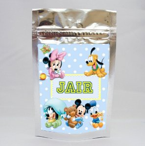 Saco Metalizado Baby Disney