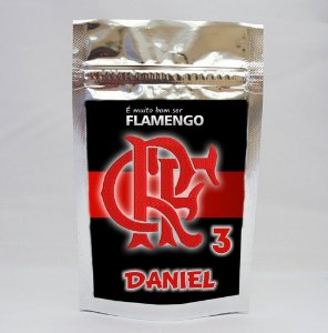Saco Metalizado Flamengo