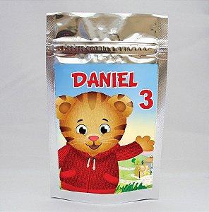 Saco Metalizado Daniel Tigre