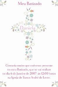 Convite digital personalizado Batizado 002