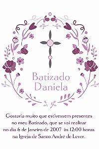 Convite digital personalizado Batizado 005