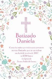 Convite digital personalizado Batizado 006