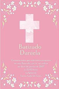 Convite digital personalizado Batizado 007