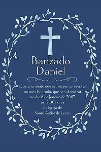 Convite digital personalizado Batizado 008