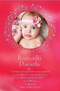 Convite digital personalizado Batizado 009