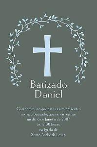 Convite digital personalizado Batizado 013