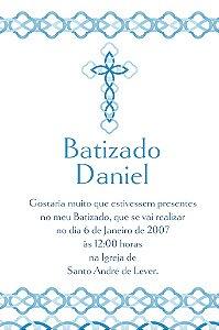 Convite digital personalizado Batizado 015