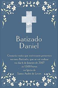 Convite digital personalizado Batizado 018