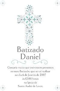 Convite digital personalizado Batizado 019