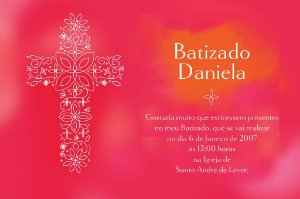 Convite digital personalizado Batizado 024