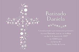 Convite digital personalizado Batizado 025