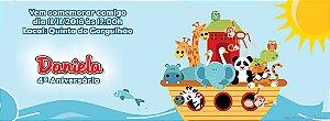 Convite personalizado para evento no facebook Arca de Noé