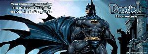 Convite personalizado para evento no facebook Batman