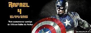Convite personalizado para evento no facebook Capitão América 002