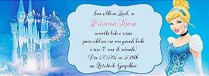 Convite personalizado para evento no facebook Cinderela 001