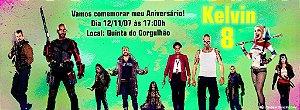 Convite personalizado para evento no facebook Esquadrão Suicida