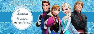 Convite personalizado para evento no facebook Frozen - O Reino do Gelo 001