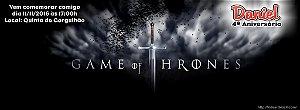 Convite personalizado para evento no facebook Game of Thrones
