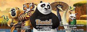 Convite personalizado para evento no facebook Kung Fu Panda