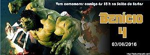 Convite personalizado para evento no facebook O Incrível Hulk 001