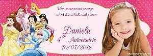 Convite personalizado para evento no facebook Princesas Disney