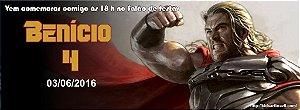 Convite personalizado para evento no facebook Thor 001
