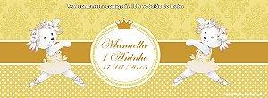Convite personalizado para evento no facebook Ursinha bailarina