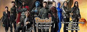 Convite personalizado para evento no facebook X-Men