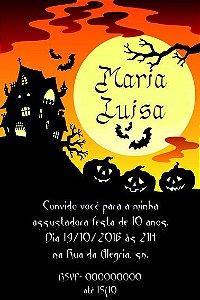 Convite digital personalizado Halloween 007