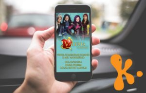 Convite personalizado para Whatsapp Descendentes