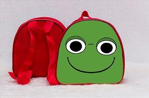 Arte para mochila personalizada Sapinho