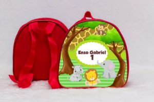 Arte para mochila personalizada Safari