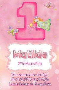 Convite digital personalizado 1º Aniversário 127