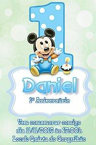 Convite digital personalizado 1º Aniversário 131